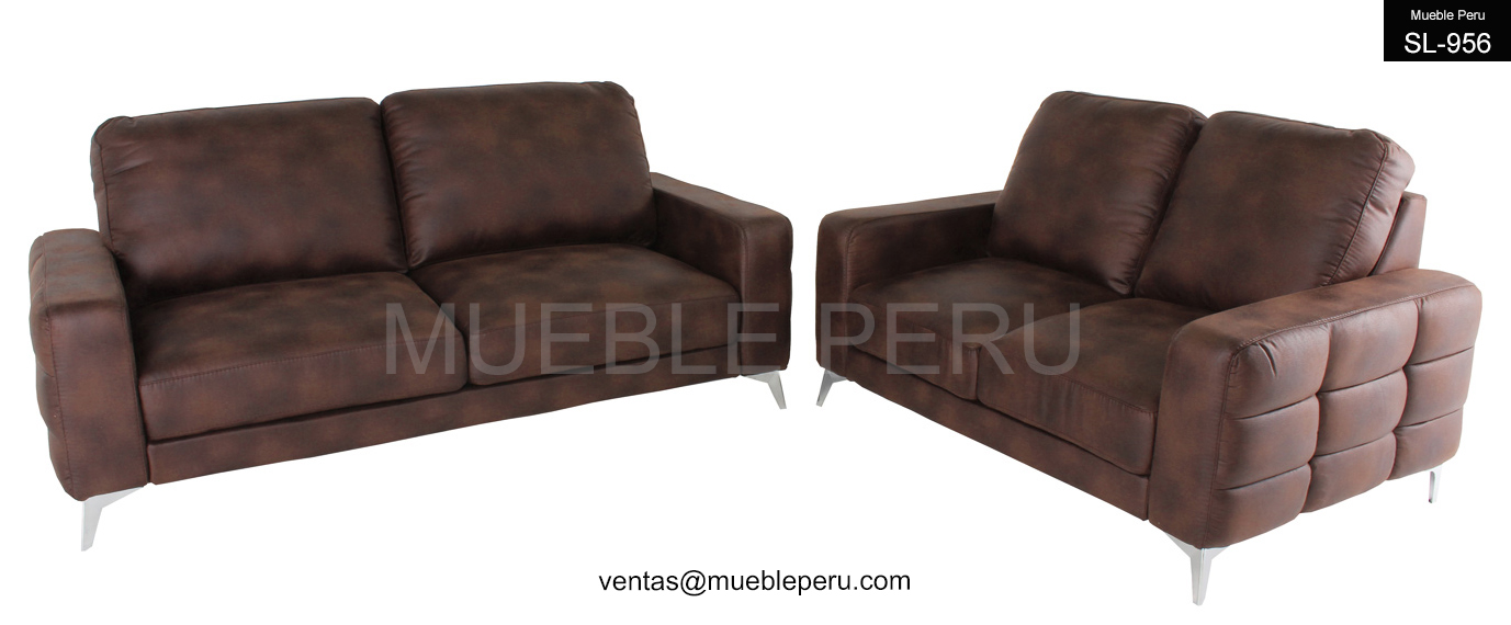 Muebles de sala elegantes sofas de cuero - Sofas elegantes diseno ...