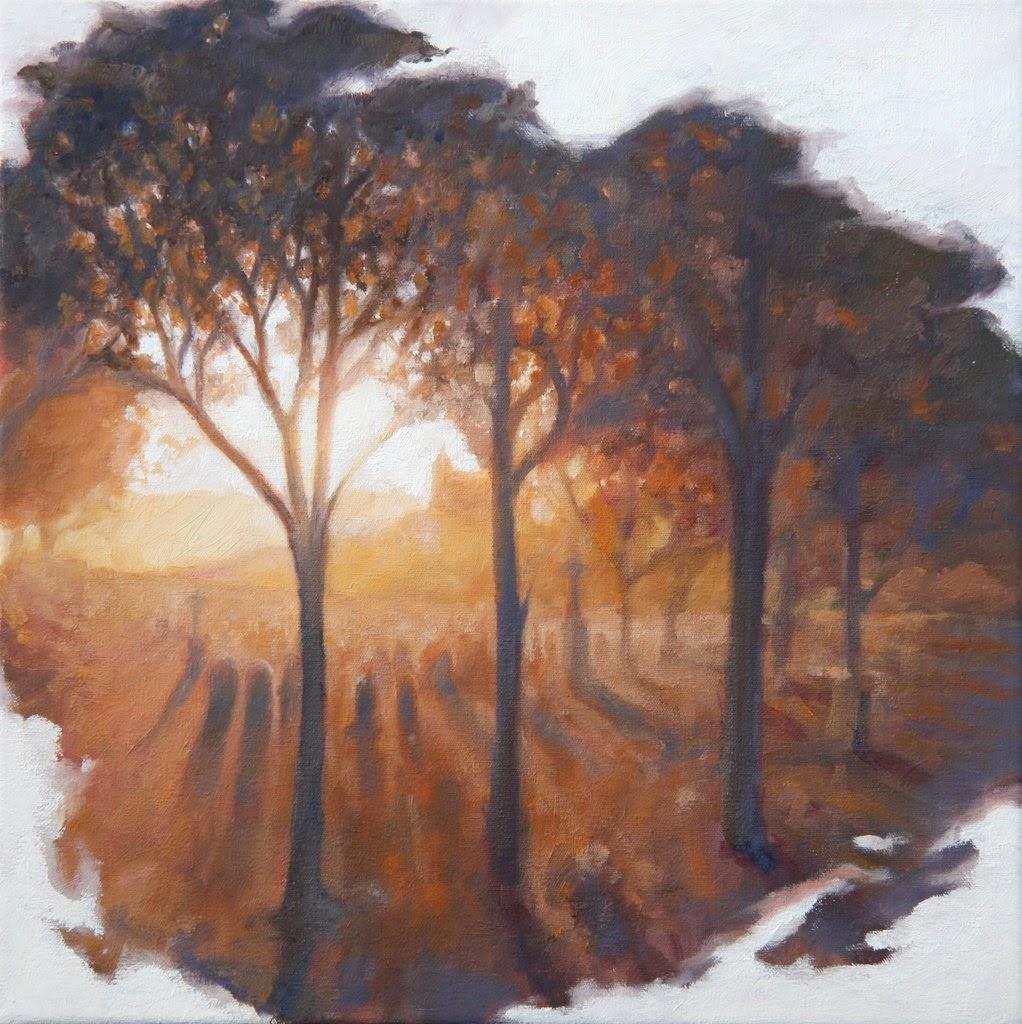 O Sol Poente - Matthew Weathers e suas pinturas | O pintor da luz