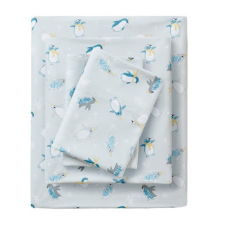 penguin sheet set for boys