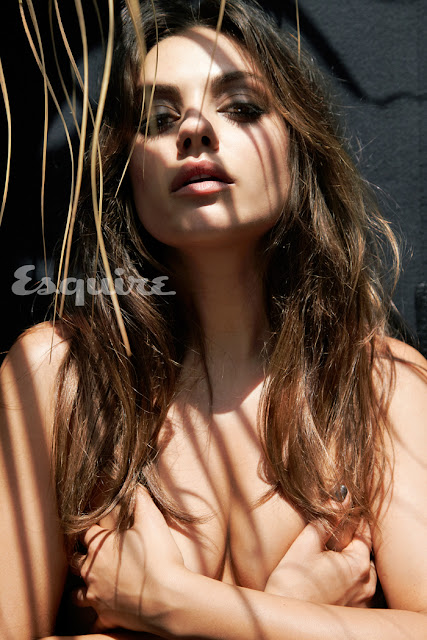 Mila Kunis Topless and Nude - Sexiest Woman Alive 2012 Photo Shoot by Esquire