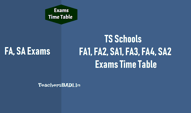 fa1,fa2,sa1,fa3,fa4,sa2 exam time table 2019-2020 ts schools,half yearly,annual exams,term holidays schedule,dates,academic activities,programmes,fas,sas exams,pre-final exams 10th class/ssc, academic calendar 2019-2020