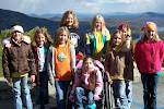Girl Scouts at Chimney Rock