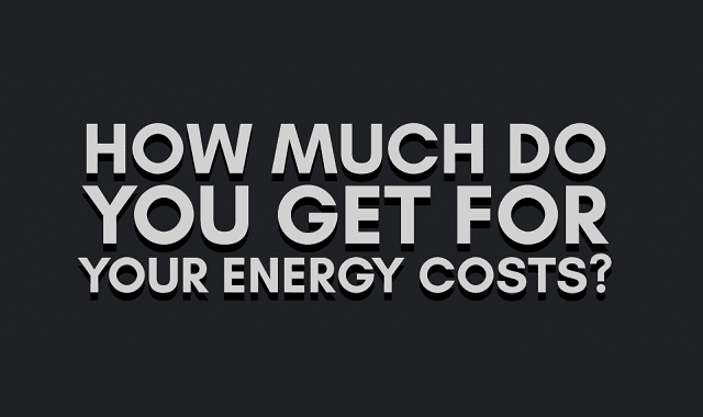 How Much Do You Get for Your Energy Costs?