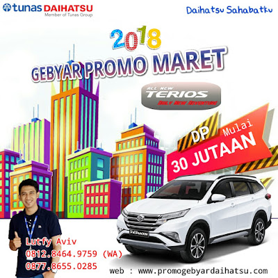 Promo Daihatsu Terios Maret 2018 Jakarta Bekasi