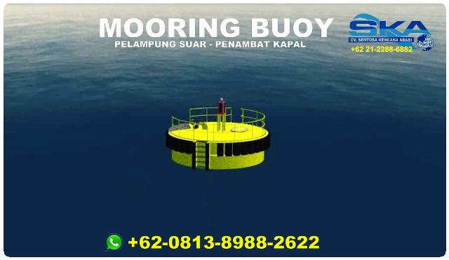 gambar mooring buoy, sbnp, sarana bantu navigasi pelayaran