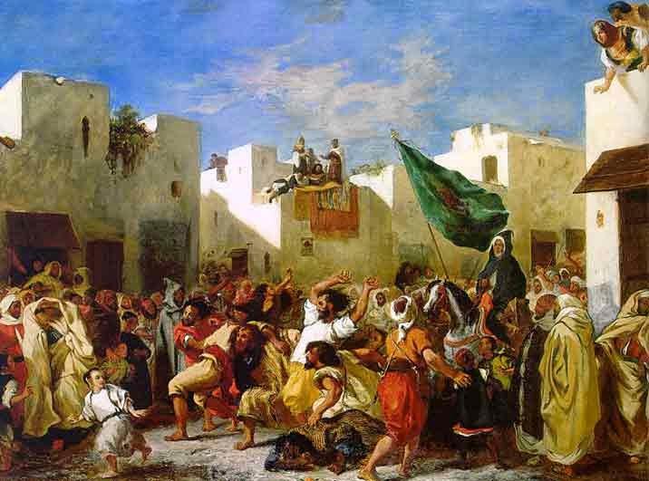 A Tomada de Constantinopla - Delacroix, Eugène e suas principais pinturas ~ Romantismo francês