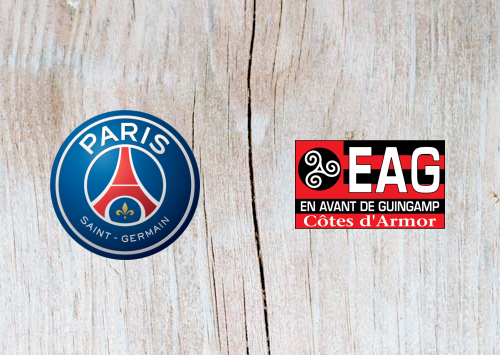 PSG vs Guingamp Full Match & Highlights 19 January 2019