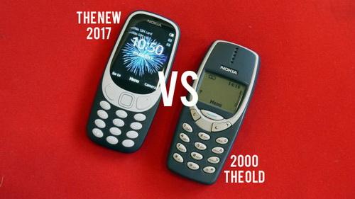 nokia 3310 baru 2017 vs 3310 lama