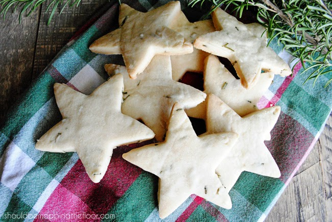 Rosemary-infused cookies