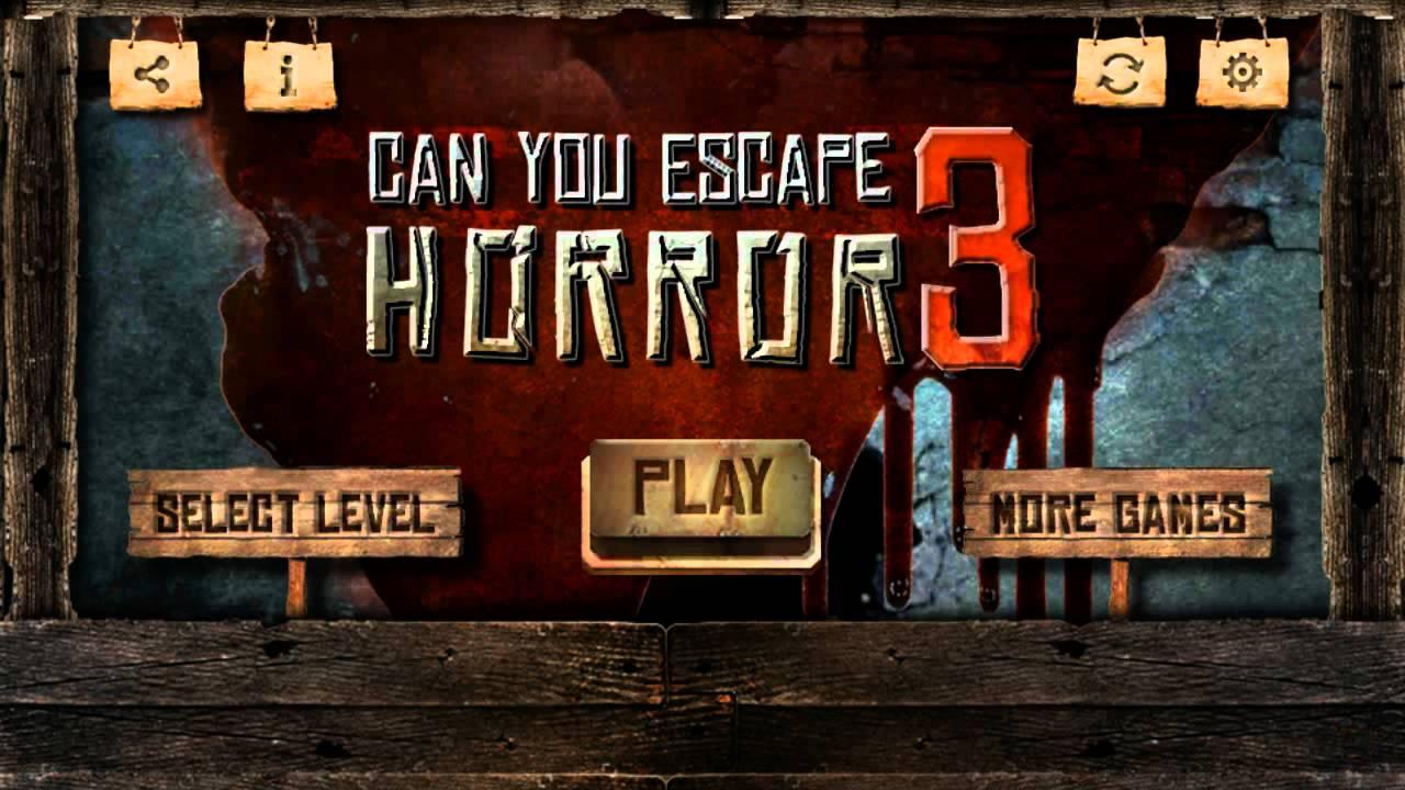 Soluzioni Can You Escape Horror 3 di tutti i livelli | Video YouTube