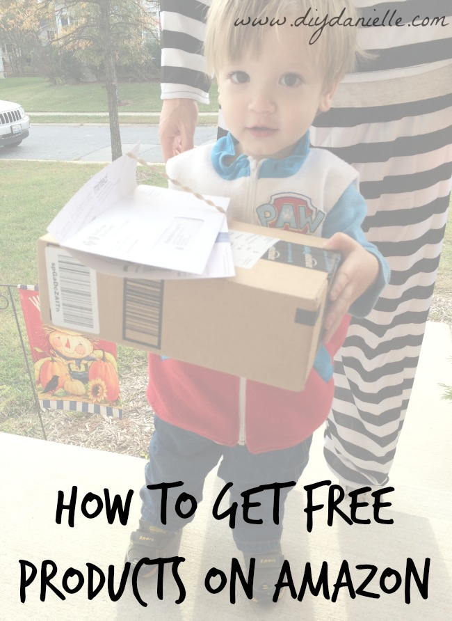 How to get free products on Amazon!