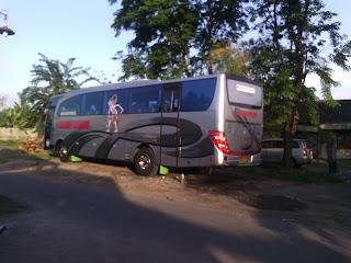 Sewa Bus Pariwisata PO. Iva Jaya Surabaya