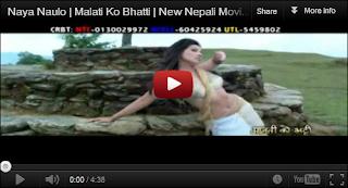 nepali songs nepali news nepali tv shows nepali naya naulo malati ko bhatti new