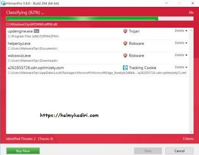 menghapus Dotmap ransomware secara tuntas