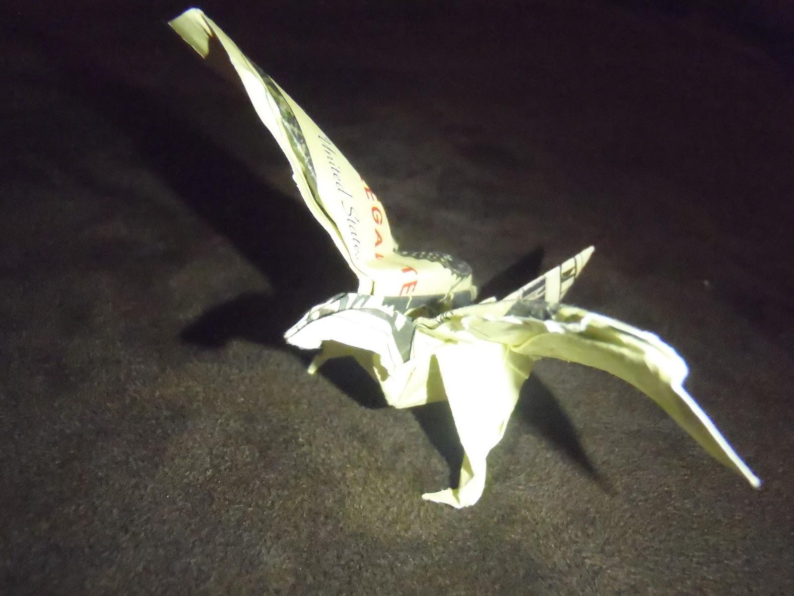 origami eagle instructions diagram big stuff 3 wiring with dollar bills download