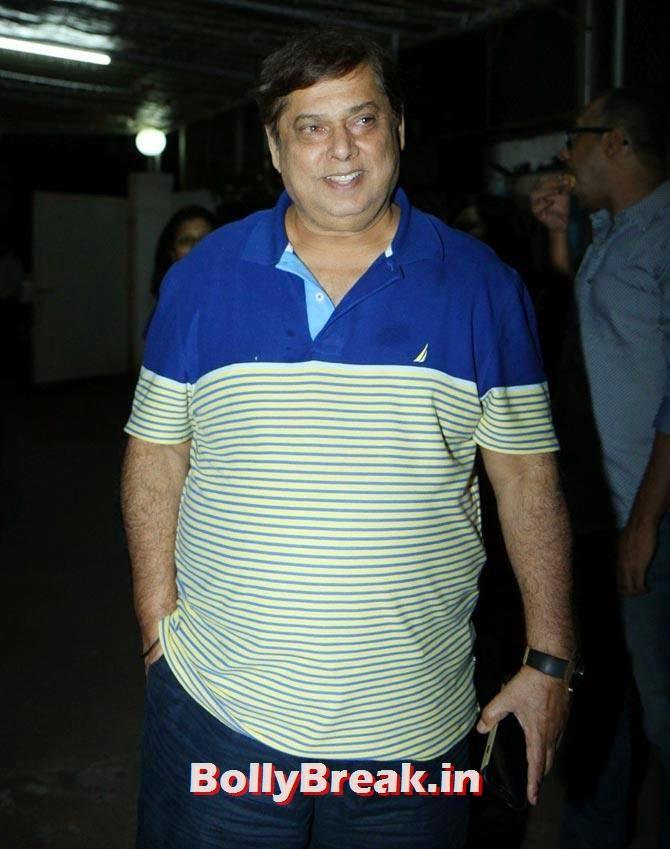 David Dhawan, Sonali Cable Screening Photos