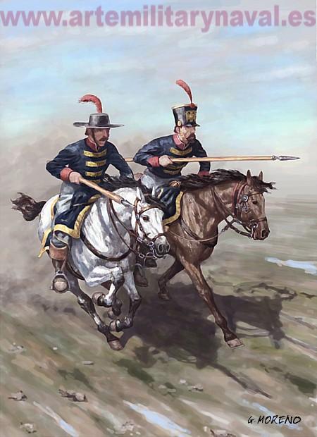 Los Charros de Don Julián. 1810
