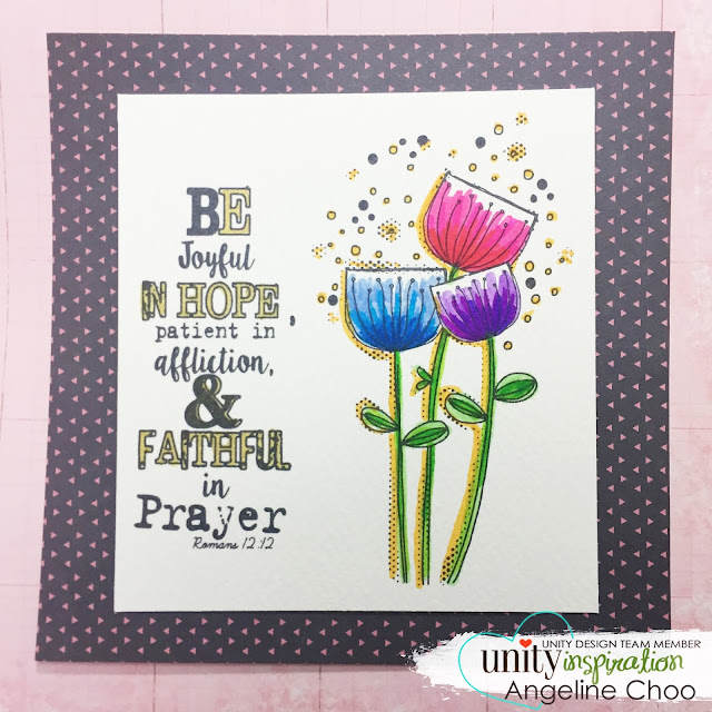 ScrappyScrappy: Joyful and Faithful [NEW VIDEO] #scrappyscrappy #unitystampco #stamp #stamping #koibrushpen #coloring #sakura #winkofstella #bible #jesus #bibleart