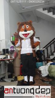 may bán mascot thú rối sư tử