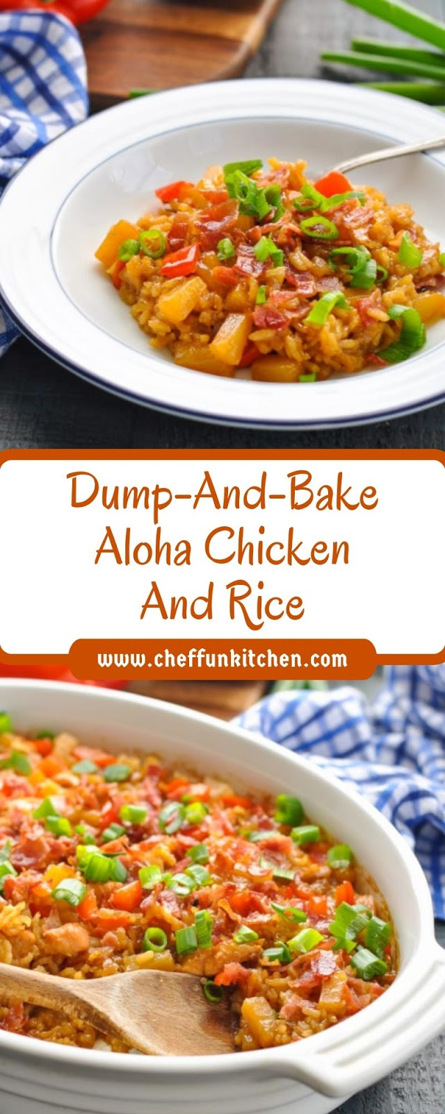 Dump-And-Bake Aloha Chicken And Rice