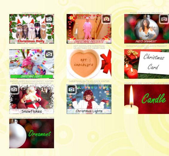 2018 Crea fotomontajes y  felicitación de Navidad