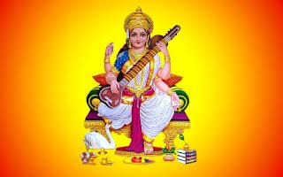 saraswati wallpaper for mobile