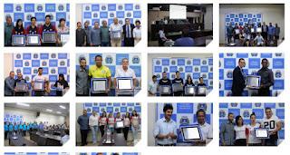 Homenagem a desportistas destaques em 2018 marca a expansão no esporte de Registro-SP
