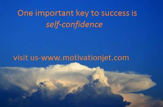 Short inspirational story about importance of self-confidence in success
