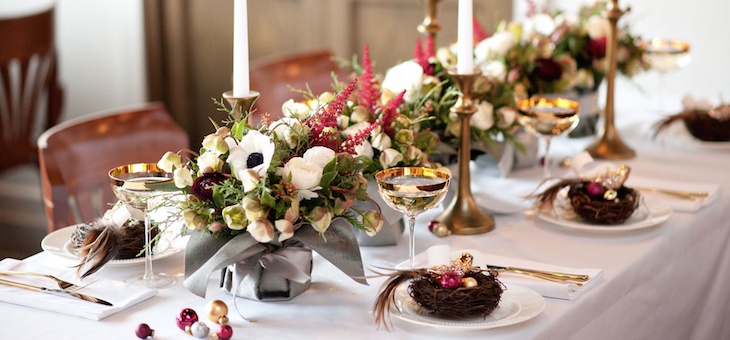Festive Holiday Party Inspo with a Must-See Tabletop + Centerpiece Recipe