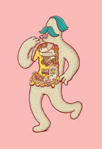 ilustración por Brosmind Estudio | cool illustration art drawings, pictures | imagenes chidas bonitas psicodelicas