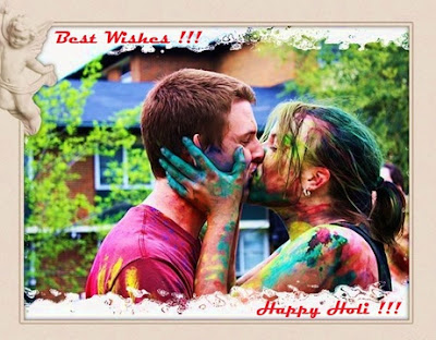 Happy Holi Hot Kiss Images