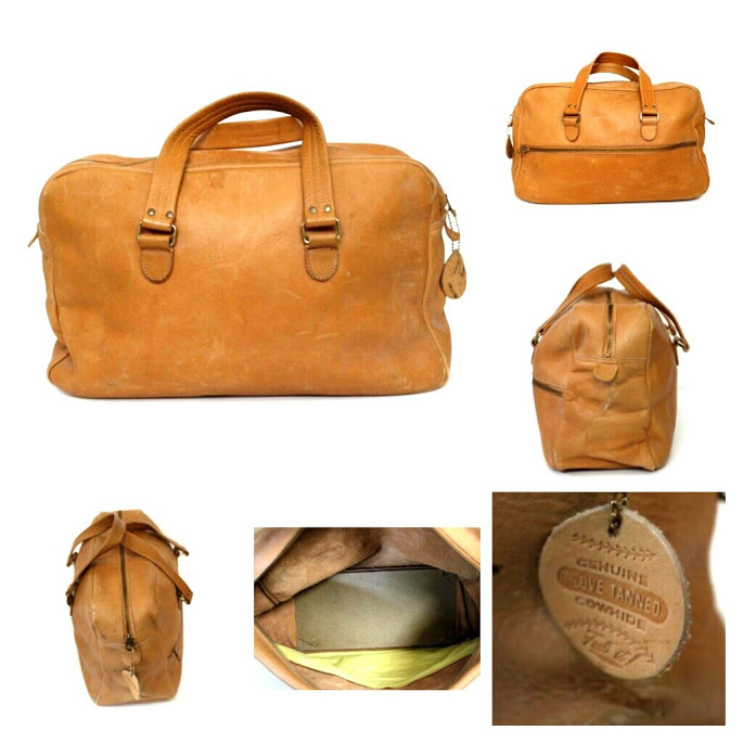 Coach, Coach Archives, NYC, Flight Bag, Travel, Vintage Coach, Sacs Magnifiques,