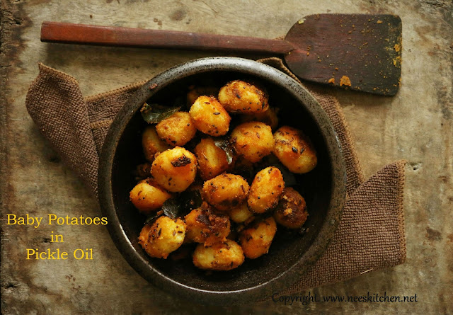 Baby Potatoes in Pickle Oil
