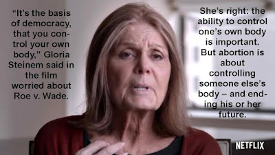 Gloria Steinem Calls Abortion 'Basis of Democracy' in New Netflix Film