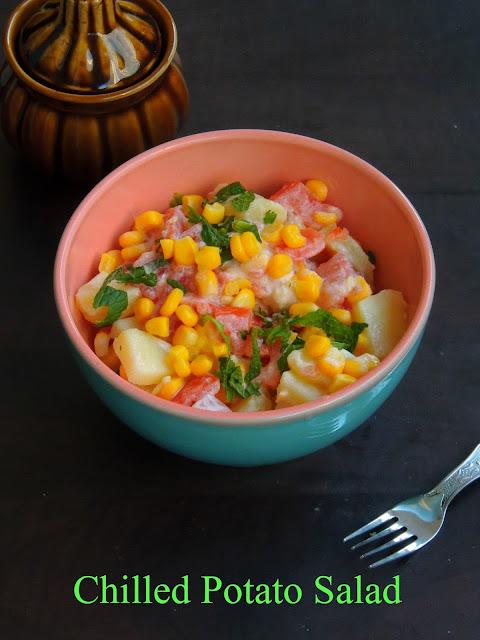 Chilled potato salad, Potato Salad