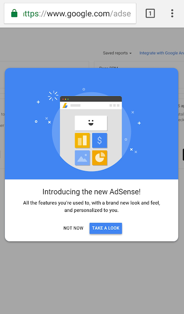 Download Google Adsense Apk Update with New Material Design