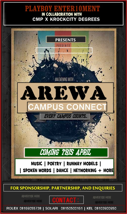 Know More About 'AREWA CAMPUS CONNECT' Coming This April!!!