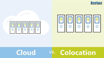 Cloud vs. Colocation graphic