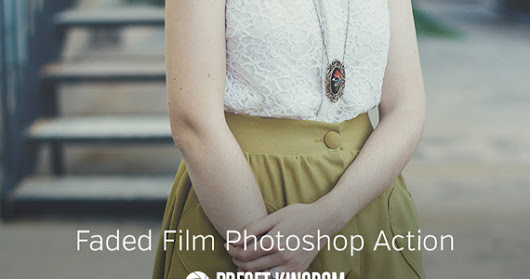 Freebie - Faded Film Photoshop Action