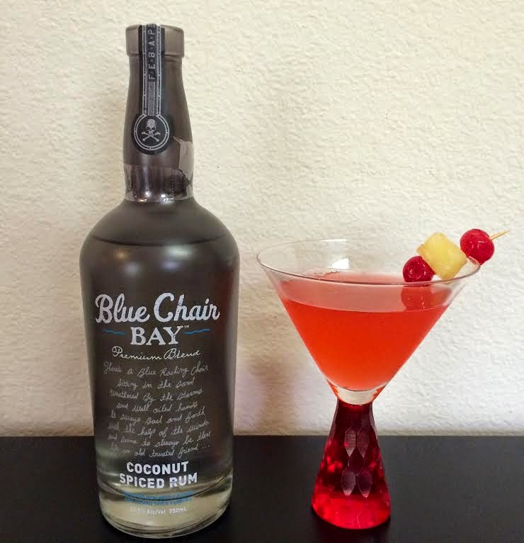 Iu0027m also currently hosting a giveaway for 1 bottle of Blue Char Bay Coconut Spiced rum. I made a tropical martini over the weekend which was delish. & Friday Favorites + Coconut Rum Giveaway - Martinis | Bikinis