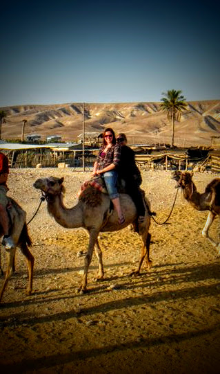 Bedouin Tents and Camels