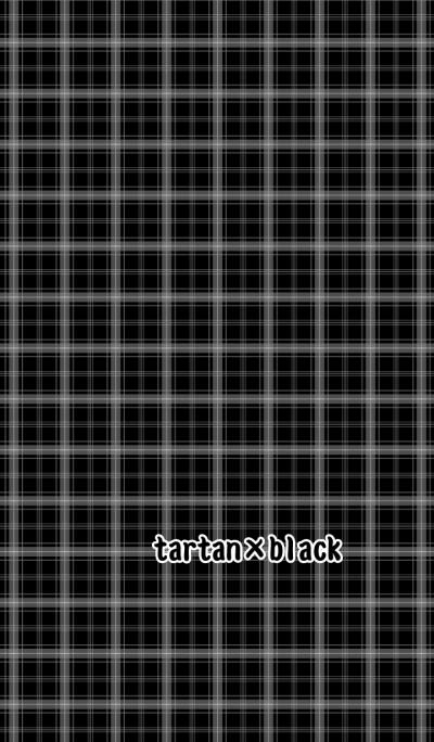 tartan*black