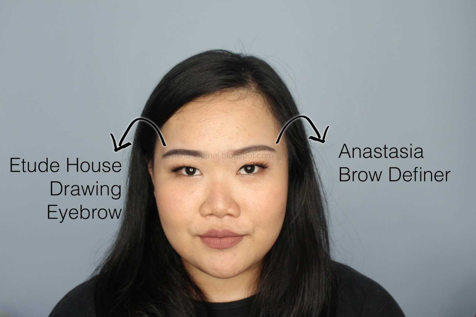 Sovis Nail Journal Anastasia Brow Definer Vs Etude House Drawing