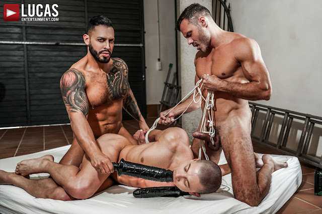 LucasEntertainment - VIKTOR ROM AND MANUEL SKYE BRUTALIZE RUSLAN ANGELO