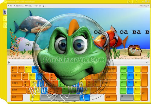 Cover Of Rapid Typing Tutor V.4.6.1 Full Version Free Download With Crack At worldofree.co