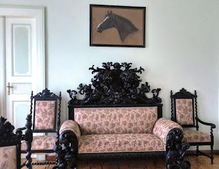 Komplet mebli w Pałacu w Walewicach-2015