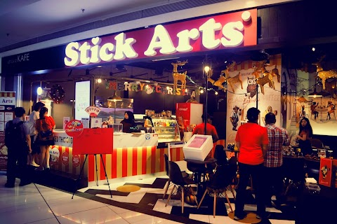 IT'S HERE IN NU SENTRAL! THE FIRST LICENSE STICK ARTS CAFE IN MALAYSIA