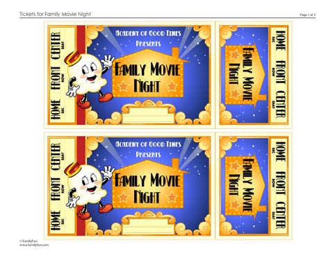 fake movie ticket template - faveritte creations fun friday with movie munchies