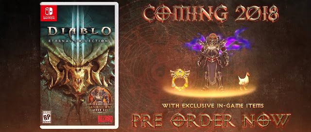 Blizzard permitirá el crossplay en el Eternal Collection de Diablo III