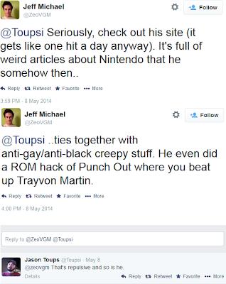 Jeff Michael Twitter troll Trayvon Tyson's Punch-Out!! ROM hack Martin